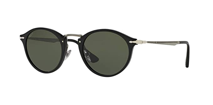 dcbc985c47146 Amazon.com  PERSOL Sunglasses PO3166S 95 58 Black  Clothing