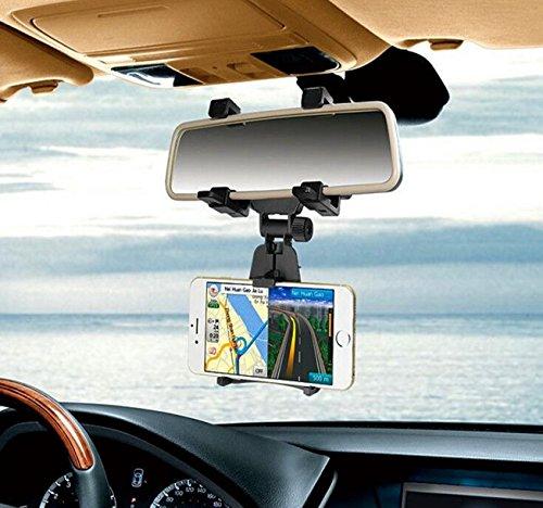 77 opinioni per Eximtrade Universale Auto Supporto Telefono Specchietto Retrovisore per Apple