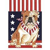 Bulldog Patriotic Breed Flag Review