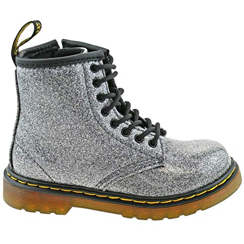 1460 Blue Ankle Glitter I Boots Glitter Dr Blue 029 Girls' Martens Coated Ew7qxaS