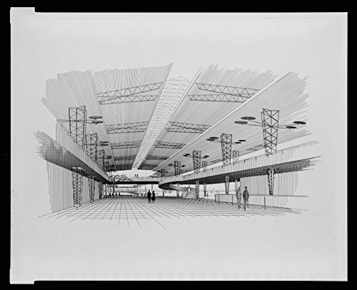 Historic Photos 1955 Photo Sarasota-Bradenton Airport, Sarasota, Florida (Project). Interior Perspective Rendering (Art Shop Sarasota Frame And)