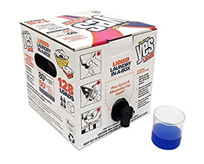 The Cube by YES Concentrated liquid laundry detergent in-a-box!