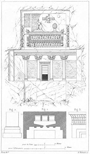 Amazon Com Iran Architecture Persepolis Tombeaux Rois Nakchi Roustam 1875 Old Print Antique Print Vintage Print Iran Art Prints Furniture Decor