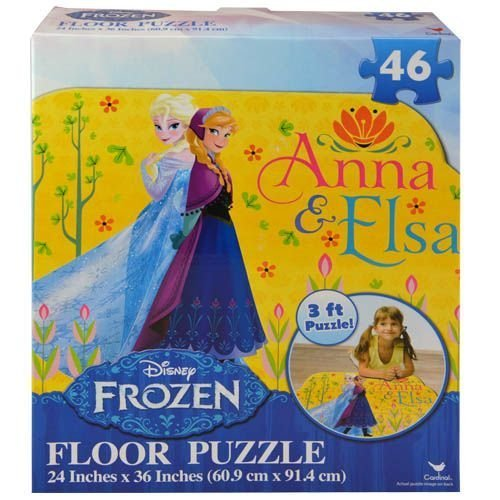 Disney Frozen Floor Puzzle (46-Piece) 24 x 36 (New Style) by Disney