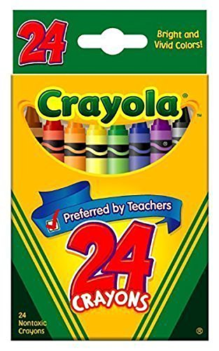 Crayola Crayons 24 Count Packs product image