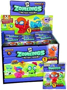 Zomlings Serie 4 - Zomlings Bolsas Ciegas - 50 Paquetes Sellados: Amazon.es: Juguetes y juegos