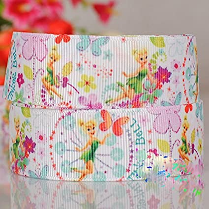 """Mixed Princess Grosgrain Ribbon Lot Bow 5 Yards Craft For Hairbow 22mm 7//8/"""""""