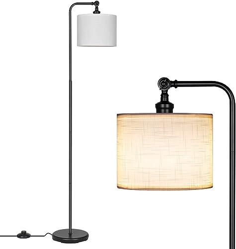 DEWENWILS 63 inch Black Floor Lamp