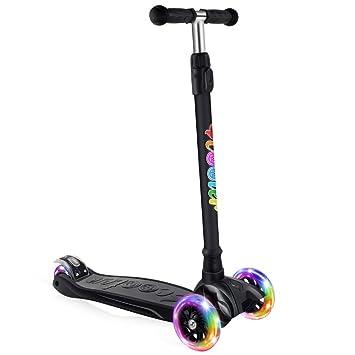 Amazon.com: BELEEV patinete para niños de 3 ruedas, patinete ...