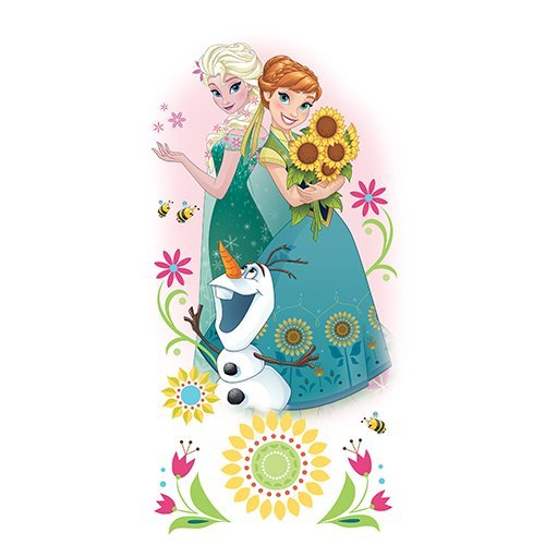 Vinilo Decorativo Pared [114G2ODE] frozen princesa