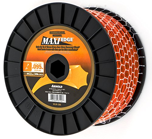 Arnold Maxi-Edge .095-Inch x 819-Foot Commercial Grade String Trimmer (Arnold Grass)