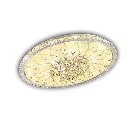 Modern redondas Diseño Cristal de techo LED Europea creativa ...