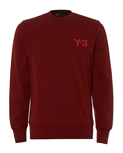 7462666b7 adidas Y-3 Mens Classic Logo Sweatshirt  Amazon.co.uk  Clothing