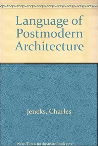 amazon in buy language of postmodern architecture book online at