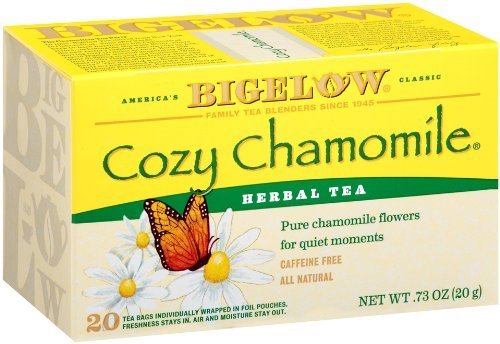 Bigelow Cozy Chamomile Herbal Tea, 20-Count Boxes (Pack of 6), Garden, Lawn, Maintenance