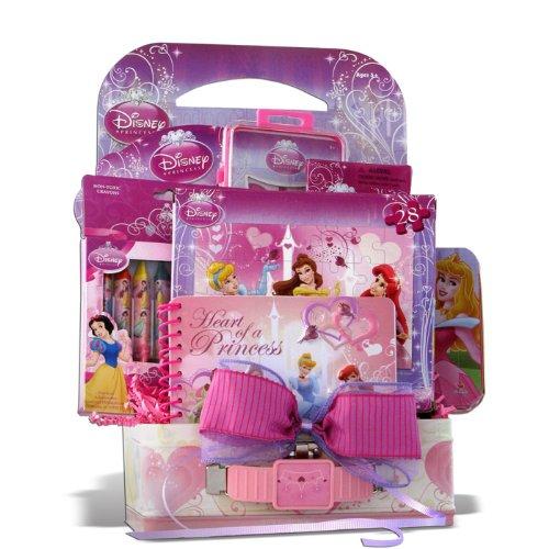 Disney Princess Fun and Game Gift Baskets for Girls