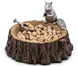 Arthur Court Standing Squirrel Nut Bowl with Scoop