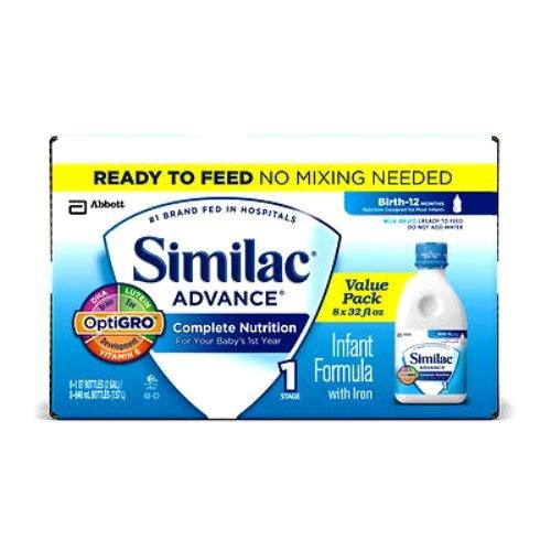 Abbott Similac Advance Complete Nutrition Infant Formula wit