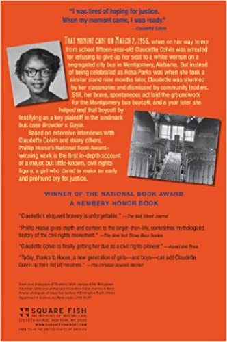 Amazon.com: Claudette Colvin: Twice Toward Justice (9780312661052 ...