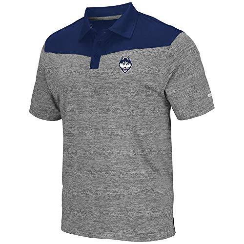 Mens UConn Connecticut Huskies Polo Shirt - L, used for sale  Delivered anywhere in USA