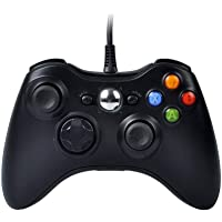 PowerLead Wired Controller di Gioco Joystick Gamepad (Xbox 360(Nero))