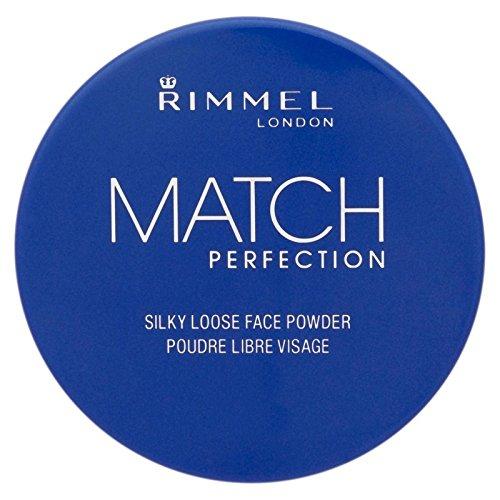 B071RMVXJ3 of リンメルマッチ完璧シルキールースパウダー、透明13グラム Transparent Silky - Match Powder, Rimmel (Pack 13g [並行輸入品] Loose 4) Perfection x4