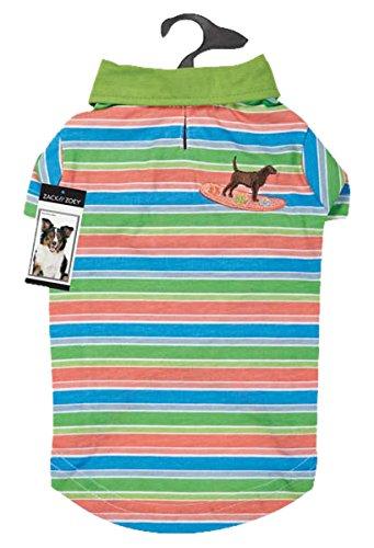 (Casual Canine Hawaiian Breeze UPF40 Polo Shirt for Dogs, Small/Medium)