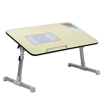 LRQHHZYQ Escritorio Plegable para Laptop, Mesa Plegable de Cama ...