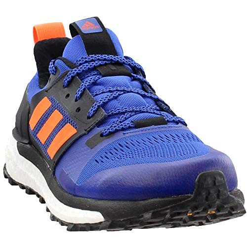 (adidas outdoor Men's Supernova Trail Hi-Res Blue/Hi-Res Orange/Black 10.5 D US)