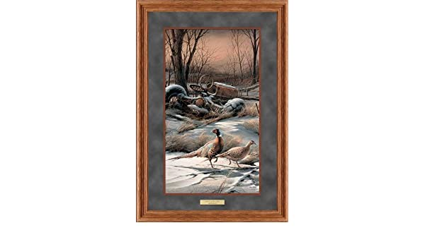 "Rusty Refuge IV by Terry Redlin Pheasant Print 11.5/"" x 20/"""