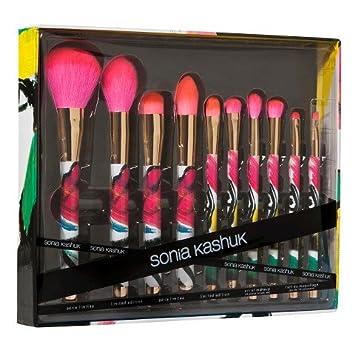 sonia kashuk limited edition brushes. sonia kashuk limited edition - art of makeup 10 piece brush set brushes t