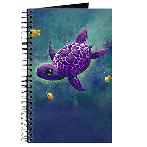 CafePress - Cute Sea turtle Journal - Spiral Bound Journal Notebook, Personal Diary, Lined