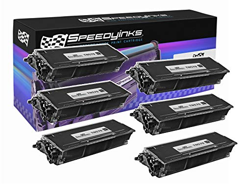 Speedy Inks Compatible Toner Cartridge Replacement for Brother TN570 High Yield (Black, 6-Pack)