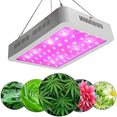 LMDH Crece la Planta de 600W LED de luz de Espectro Completo de Efecto Invernadero vivero hidropónico de la lámpara de luz UV Planta con luz infrarroja