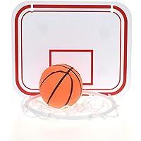 Door Basketball Hoop with 3 Balls and Pump Indoor Mini Basketball Hoop for Door Wall Basketball Toy Gifts for Kids//Boys// Girls//Teens//Adult NZQXJXZ 24 X 16 Large Basketball Hoop Set