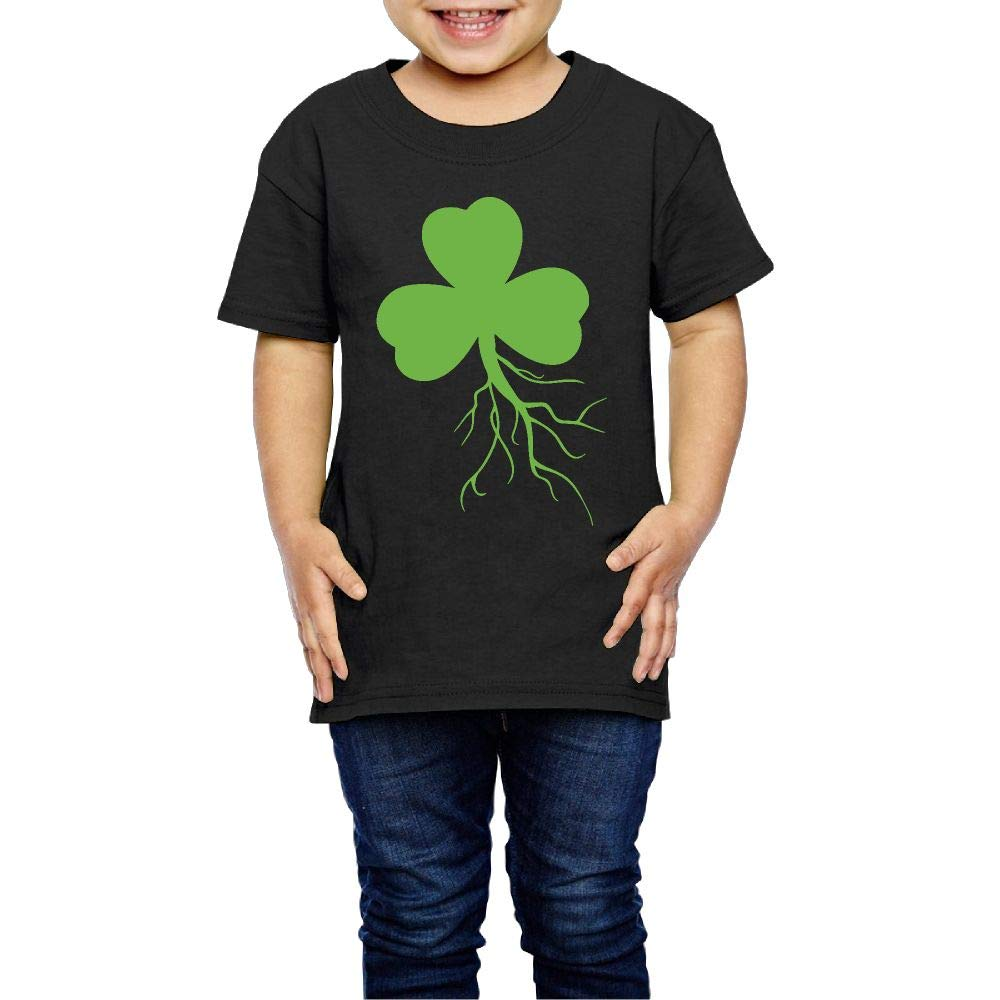 XYMYFC-E Irish Shamrock Roots 2-6 Years Old Boys /& Girls Short Sleeve Tshirts