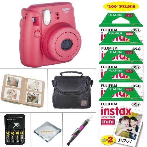 Fujifilm Mini Instant Camera Raspberry