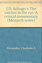 J. D. Salinger's The Catcher in the Rye: A…