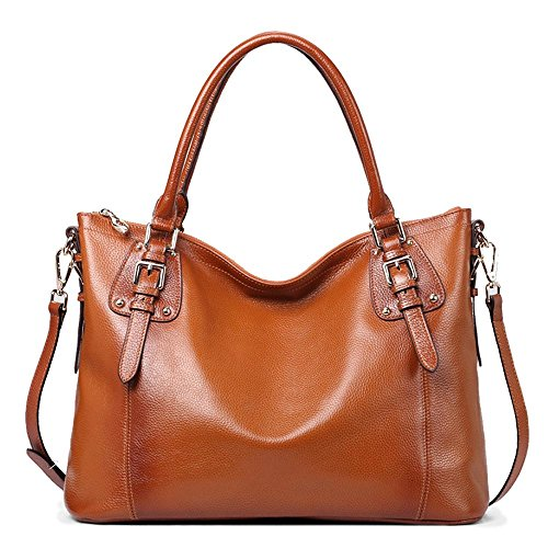 Zip Calf Leather Large Tote - 4