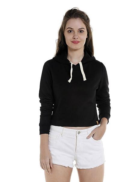 Campus Sutra Women's Plain Sweatshirt
