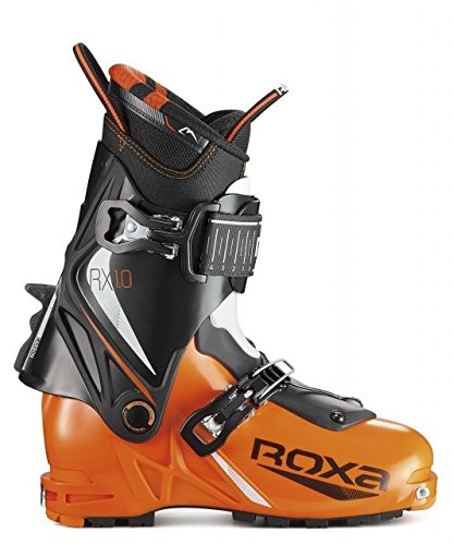 Roxa RX 1.0 Ultra Ski Boots Mens, Orange/Black/Black White, 28.5, 700002 28.5