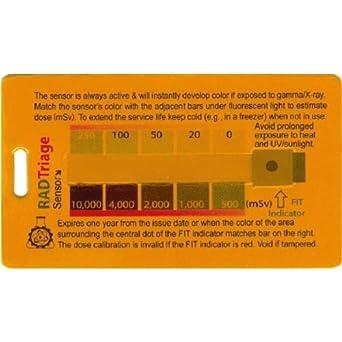 Sirad Radiation Detection Card