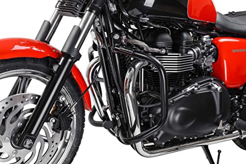 SW-MOTECH Crash Bars Engine Guards for Triumph Bonneville, SE & T100 '04-'16 & Thruxton '04-'15