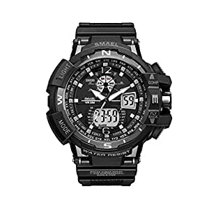 Sport Watch For Men analog-Digital Led Digital Electronic Quartz Wrist Watches