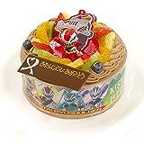 キャラデコお祝いケーキ 騎士竜戦隊リュウソウジャー 5号 15cm チョコクリームショートケーキ
