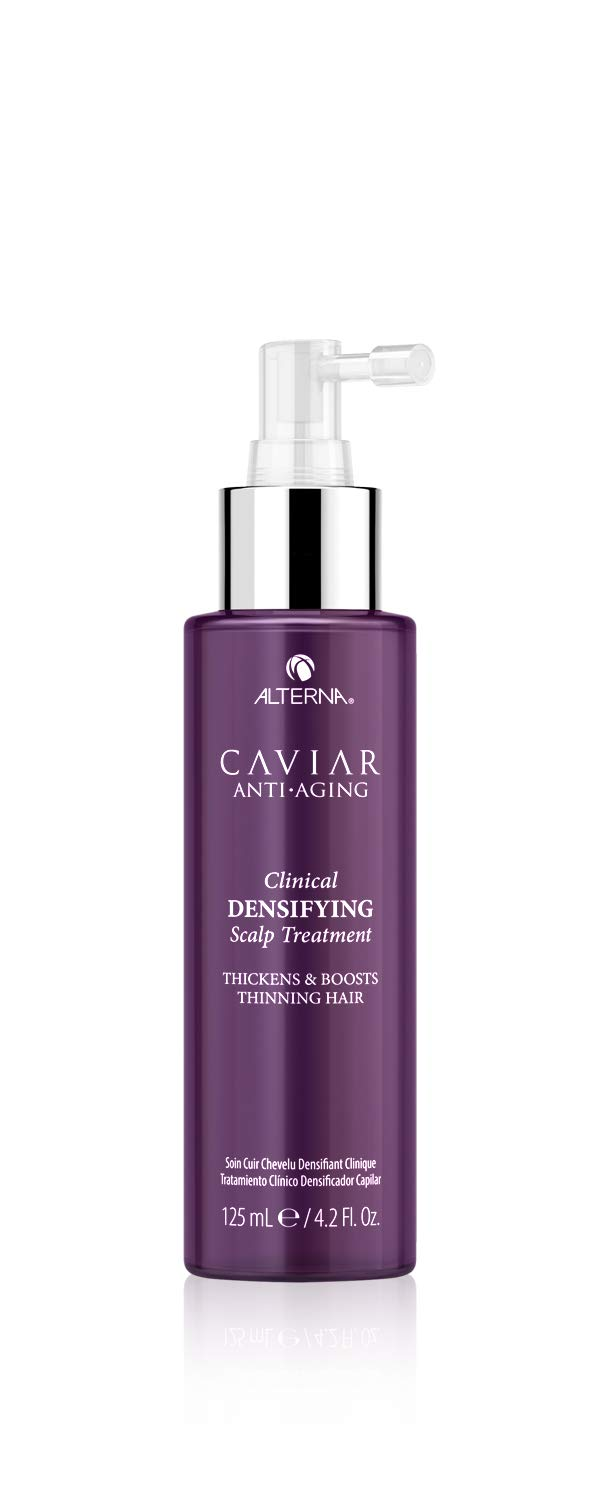 Alterna Caviar Anti-Aging Clinical Densifying Leave-in Scalp Treatment, 4.2 Fl Oz   Thickens & Boosts Thinning Hair   Sulfate Free