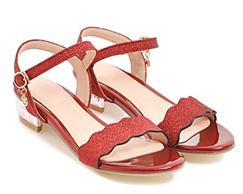 Mules Femme HiTime HiTime Red Mules nWTUx