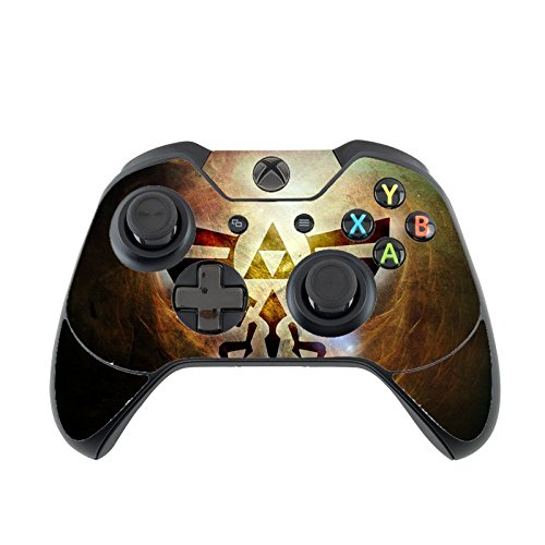 Trendy Accessories The Legend Of Zelda Triforce Symbol Silhouette Design Print Image Xbox One Controller Vinyl Decal Sticker Skin