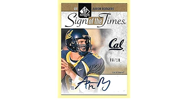 buy online e482c 4af58 Amazon.com: 2011 SP Authentic SOTT Gold #AR Aaron Rodgers ...