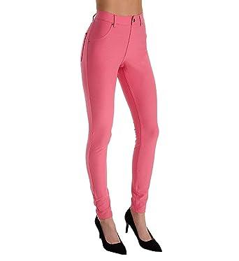 f9fbb1f3cd8 HUE Women s Essential Denim Leggings at Amazon Women s Clothing store